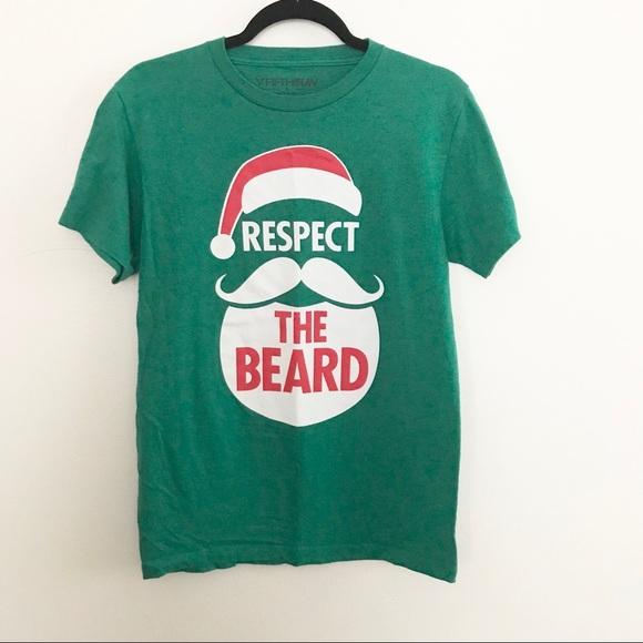 funny christmas tee shirt santa beard - Funny Christmas T Shirts